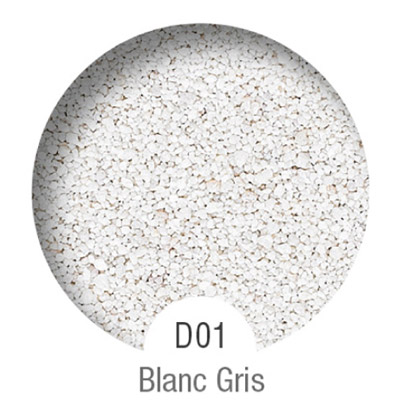 Gammes de résine de sol Alpha Peinture & Sol - Serie D Blanc Gris ( 04-08mm )