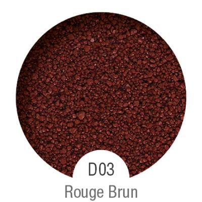 Gammes de résine de sol Alpha Peinture & Sol - Serie D Rouge Brun ( 04-08mm )