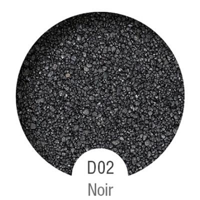 Gammes de résine de sol Alpha Peinture & Sol - Serie D Noir ( 04-08mm )