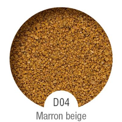 Gammes de résine de sol Alpha Peinture & Sol - Serie D Marron Beige ( 04-08mm )