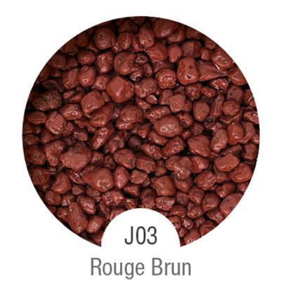 Gammes de résine de sol Alpha Peinture & Sol - Serie J Rouge Brun ( 16-40mm )