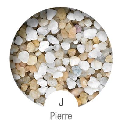 Gammes de résine de sol Alpha Peinture & Sol - Serie J Pierre ( 16-40mm )