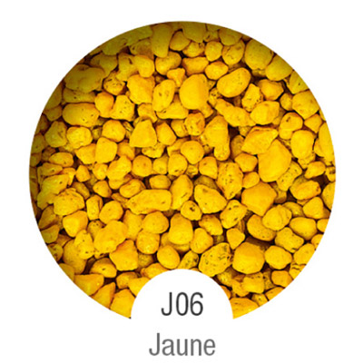Gammes de résine de sol Alpha Peinture & Sol - Serie J Jaune ( 16-40mm )
