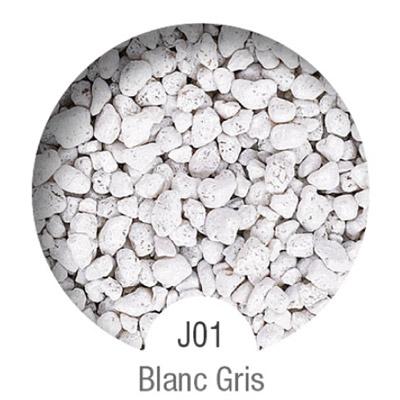 Gammes de résine de sol Alpha Peinture & Sol - Serie J Blanc gris ( 16-40mm )