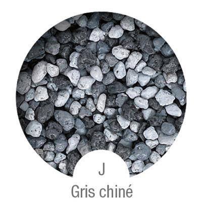 Gammes de résine de sol Alpha Peinture & Sol - Serie J Gris Chiné ( 16-40mm )