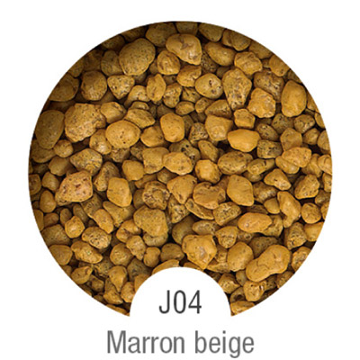 Gammes de résine de sol Alpha Peinture & Sol - Serie J Marron Beige( 16-40mm )