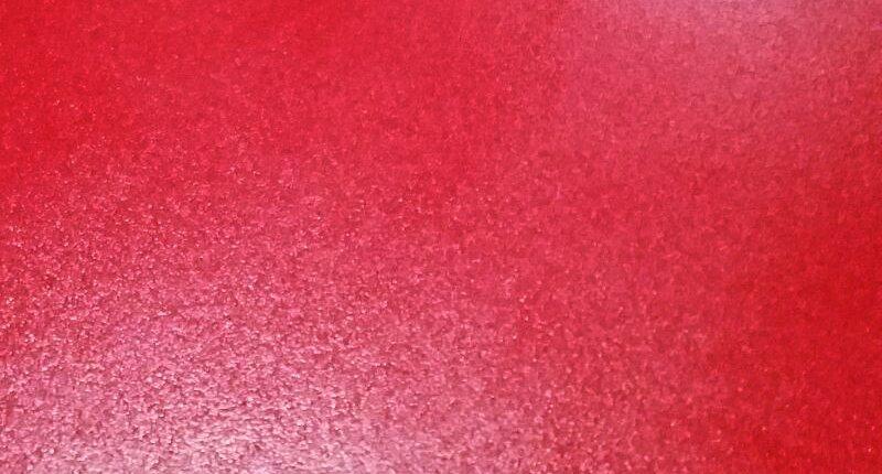 Texture de résine pour le sol de couleur rouge